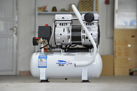 High pressure and low noise air compressor