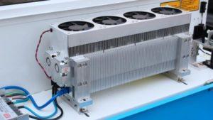 tub laser CO2 din metal (RF)